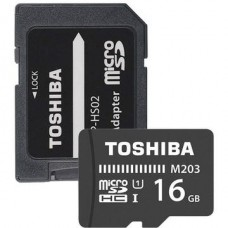 Card memorie Toshiba M203 Micro SDXC 16GB Class 10 UHS-I + Adapter